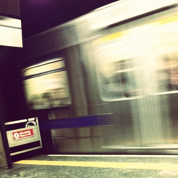 Metrô - SP - Foto: Alexandre Ramos Flávio (instagram.com/aflavio)
